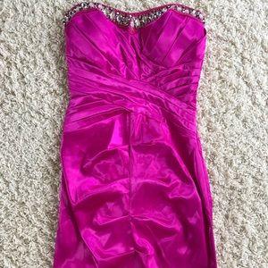 B Darlin Pink Dress. Size 7/8